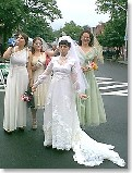 Union Square: Sowebo Arts Festival - a roving band of hard-drinking bridesmaids