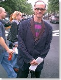 Union Square: Sowebo Arts Festival - world famous movie director John Waters is among the visitors